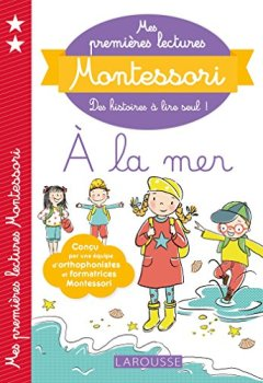 Livres Couvertures de Mes premières lectures Montessori, À la mer