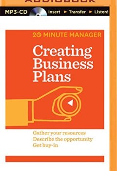Livres Couvertures de Creating Business Plans by Harvard Business Review (2016-08-06)
