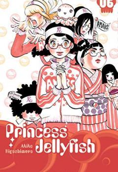 Livres Couvertures de Princess Jellyfish T06