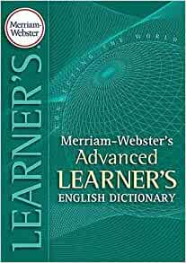 Merriam-Webster's Advanced Learner's English Dictionary: Merriam-Webster: 9780877795513: Amazon ...