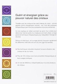 Livres Couvertures de Cristaux et chakras : Médecine énergétique pour le corps, l'âme et l'esprit