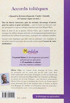 Livres Couvertures de Mandalas Bien-Être Accords Tolteques
