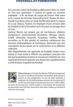 Livres Couvertures de Football et formation: Une certaine idée du jeu