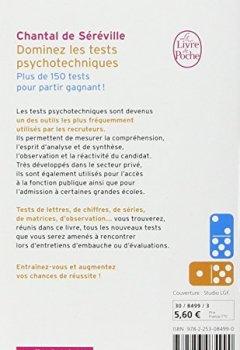 Livres Couvertures de Dominez les tests psychotechniques : Exercices pratiques