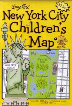 Livres Couvertures de Guy Fox New York City Children's Map