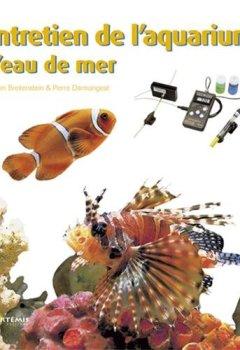 Livres Couvertures de Entretien de l'aquarium d'eau de mer