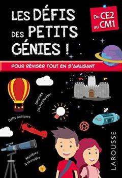 Livres Couvertures de Les Défis des Petits Genies, du CE2 au CM1