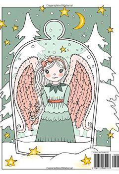 Livres Couvertures de Winter Dreamlings: Christmas coloring book