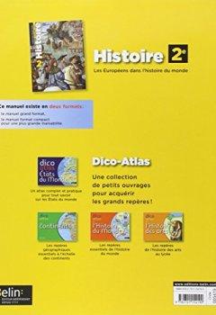 Livres Couvertures de Histoire 2de Programme 2010 : Grand format