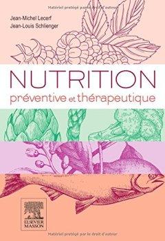 Livres Couvertures de Nutrition préventive et thérapeutique
