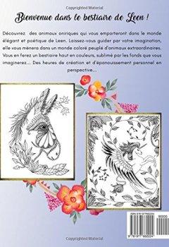 Livres Couvertures de Livre de coloriage pour adultes: Le Bestiaire de Leen