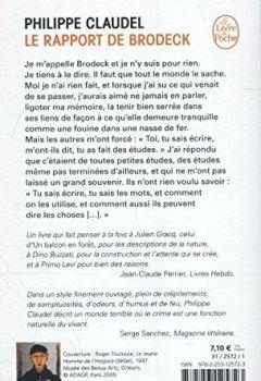 Livres Couvertures de Le rapport de Brodeck - Prix Goncourt des lycéens 2007