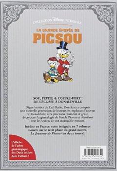 Livres Couvertures de La grande épopée de Picsou, Tome 1 : La jeunesse de Picsou