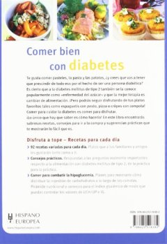 Livres Couvertures de Recetas sabrosas para diabeticos / Delicious Recipes for Diabetics
