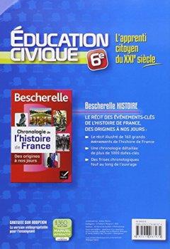 Livres Couvertures de L'Apprenti Citoyen du XXIe s Education civique 6e éd. 2013 - Cahier d'activités de l'élève