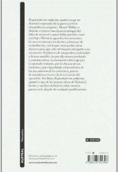 Livres Couvertures de Requiel por un campesino espanol