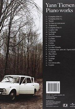 Livres Couvertures de Tiersen Yann Piano Works 23 Pieces Pf Book (Partition)