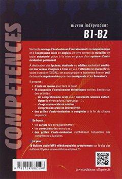 Livres Couvertures de Anglais Entraînement et Auto-Évaluation Spécial Oral B1-B2 Compréhension Expression Compétences