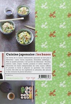 Livres Couvertures de Cuisine japonaise: les bases