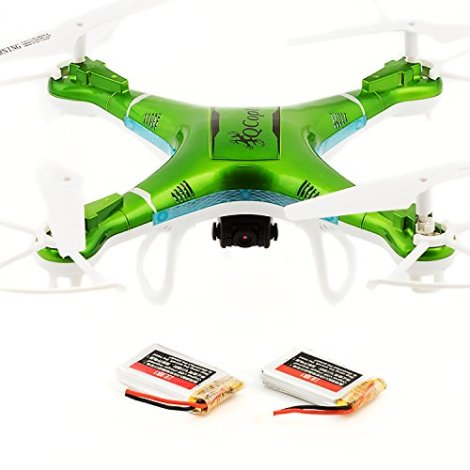 Best-Quadcopter-Drones-for-Sale-with-HD-Camera-LED-Lights-Green-Drone-BONUS-BATTERY-2X-FlightTime