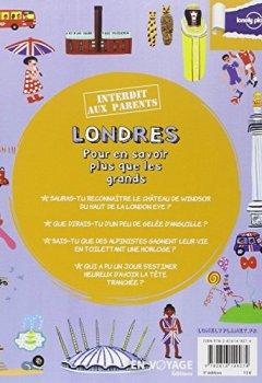 Livres Couvertures de Londres Interdit aux parents - 3ed