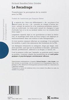 Livres Couvertures de Le recadrage - Transformer la perception de la réalité avec la PNL