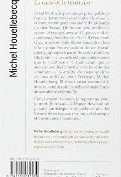 Livres Couvertures de La carte et le territoire - Prix Goncourt 2010