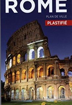 Livres Couvertures de Plan Rome Plastifié Michelin