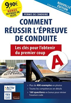 Livres Couvertures de Permis de conduire : réussir l'épreuve de conduite: Les clés pour l'avoir du premier coup