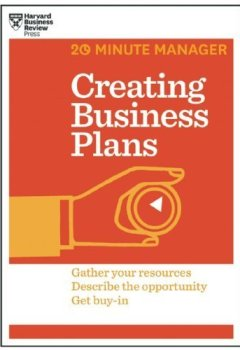 Livres Couvertures de Creating Business Plans (HBR 20-Minute Manager Series) by Harvard Business Review (2014) Paperback