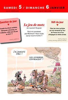 Livres Couvertures de L'almanach des grosses têtes 2019