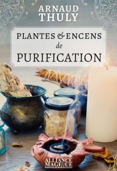 Livres Couvertures de Plantes & encens de purification