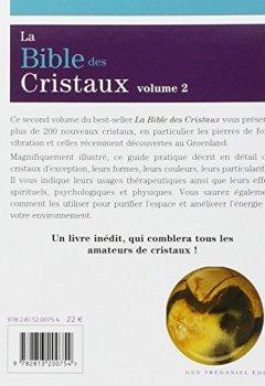Livres Couvertures de La Bible des Cristaux : Volume 2