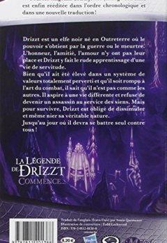 Livres Couvertures de La Légende de Drizzt, Tome 1: Terre natale