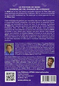 Livres Couvertures de Le pouvoir du reiki - Energie de Vie - Energie de Guérison