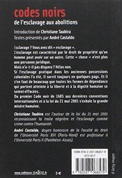 Livres Couvertures de Codes noirs, de l'esclavage aux abolitions - 1ère éd.
