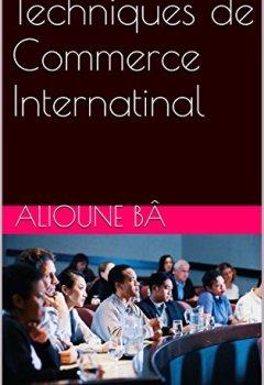 Livres Couvertures de Techniques de Commerce International