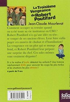 Livres Couvertures de La Troisième Vengeance de Robert Poutifard