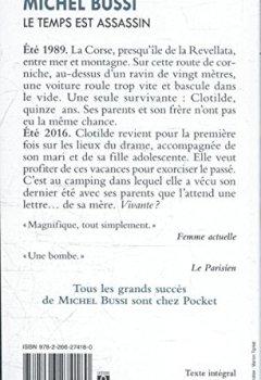 Michel Bussi - Le temps est assassin 2019