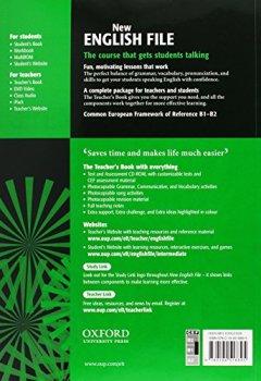 Livres Couvertures de New English File : Intermediate Teacher's Book (1Cédérom)