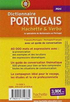 Livres Couvertures de Mini Dictionnaire Hachette Verbo - Bilingue Portugais