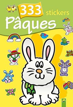 Livres Couvertures de 333 stickers Pâques