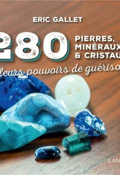 Livres Couvertures de 280 pierres, minéraux et cristaux