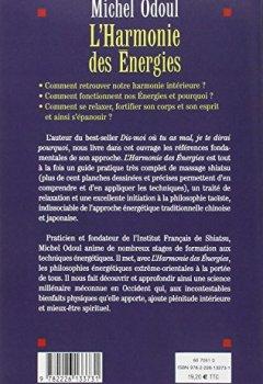 Livres Couvertures de L'Harmonie des énergies