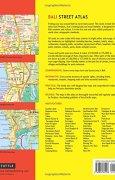 Livres Couvertures de Bali Street Atlas