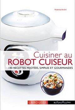 Livres Couvertures de Cuisiner avec un robot cuiseur cookeo