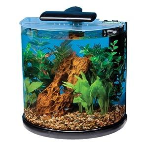 .com : Tetra 29234 Half Moon Aquarium Kit, 10 Gallon : Pet Supplies