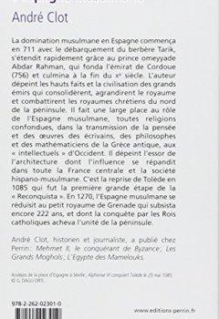 Livres Couvertures de L'Espagne musulmane