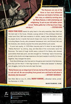 Livres Couvertures de Punk Rock Blitzkrieg: My Life as a Ramone