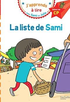 Livres Couvertures de Sami et Julie CP Niveau 1 La liste de Sami
